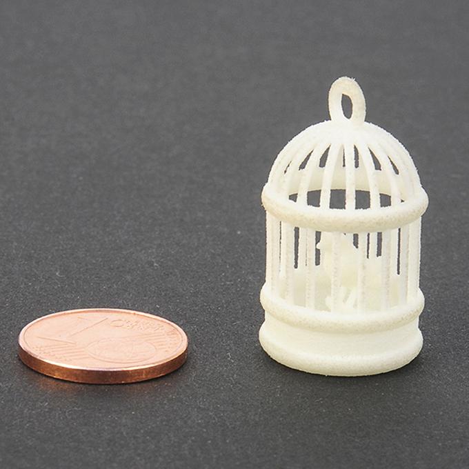 Plastique blanc pour impression 3D - échantillon