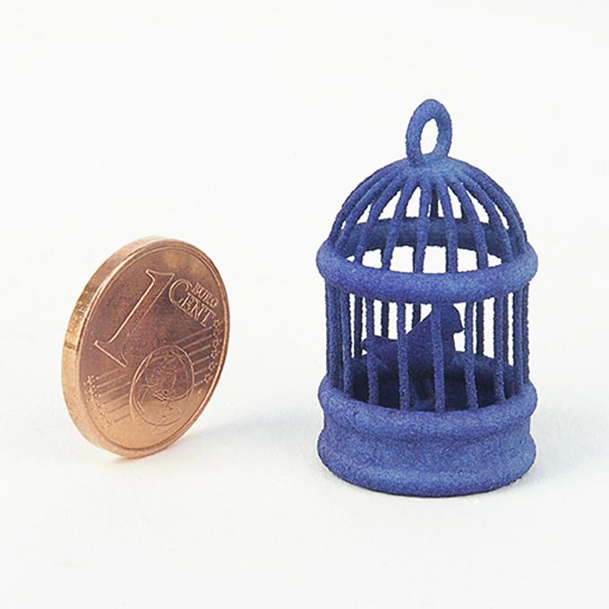 Plastique fritté de couleur bleue