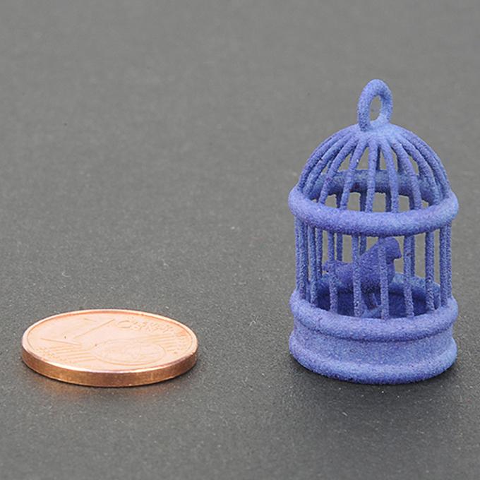 Plastique bleu pour impression 3D - échantillon