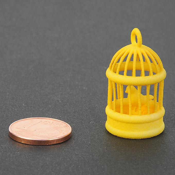 Plastique jaune pour impression 3D - échantillon