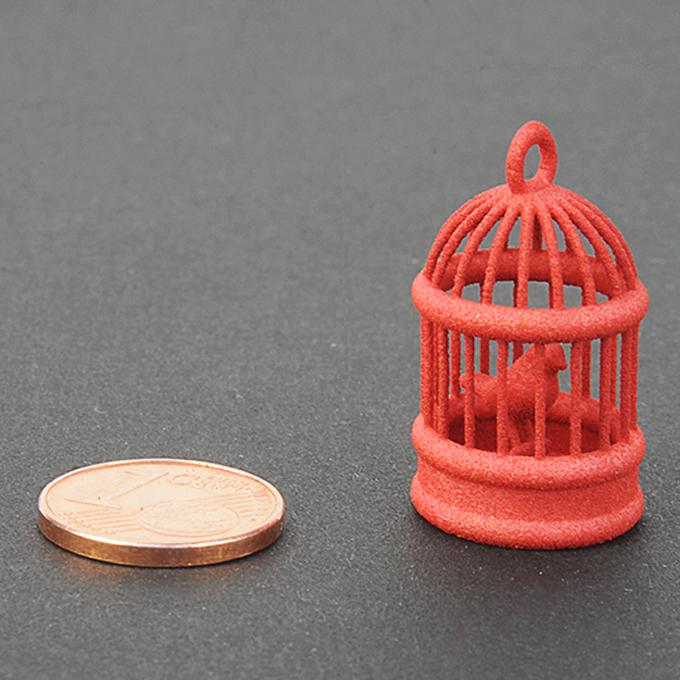 Plastique rouge pour impression 3D - échantillon
