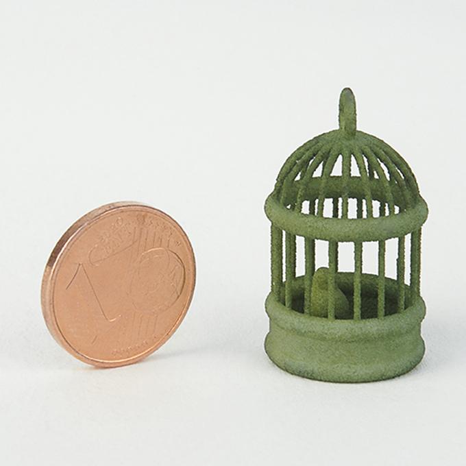 Nylon fritté de couleur verte