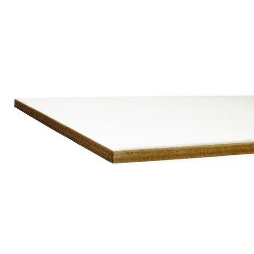 Bord coupé au laser - carton blanc