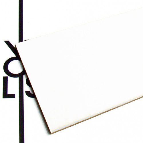 Carton blanc - échantillon