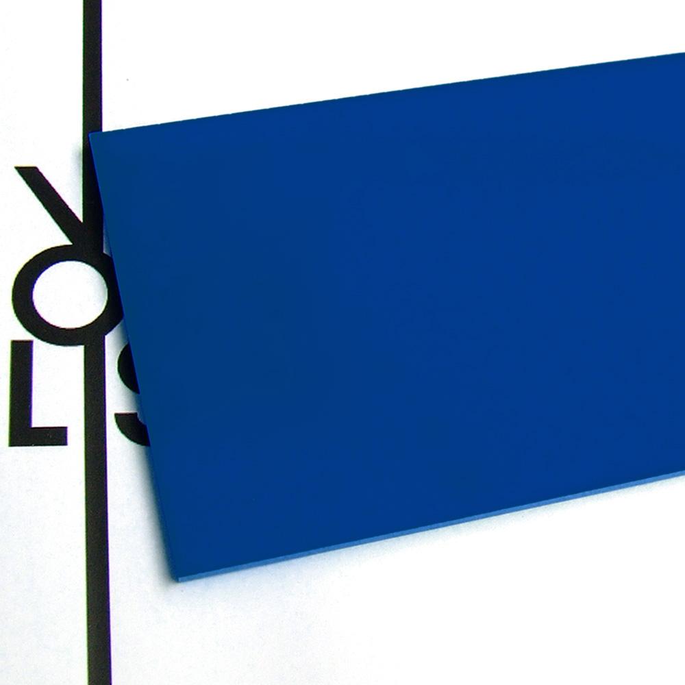 Plexiglas blu zaffiro - trasparenza