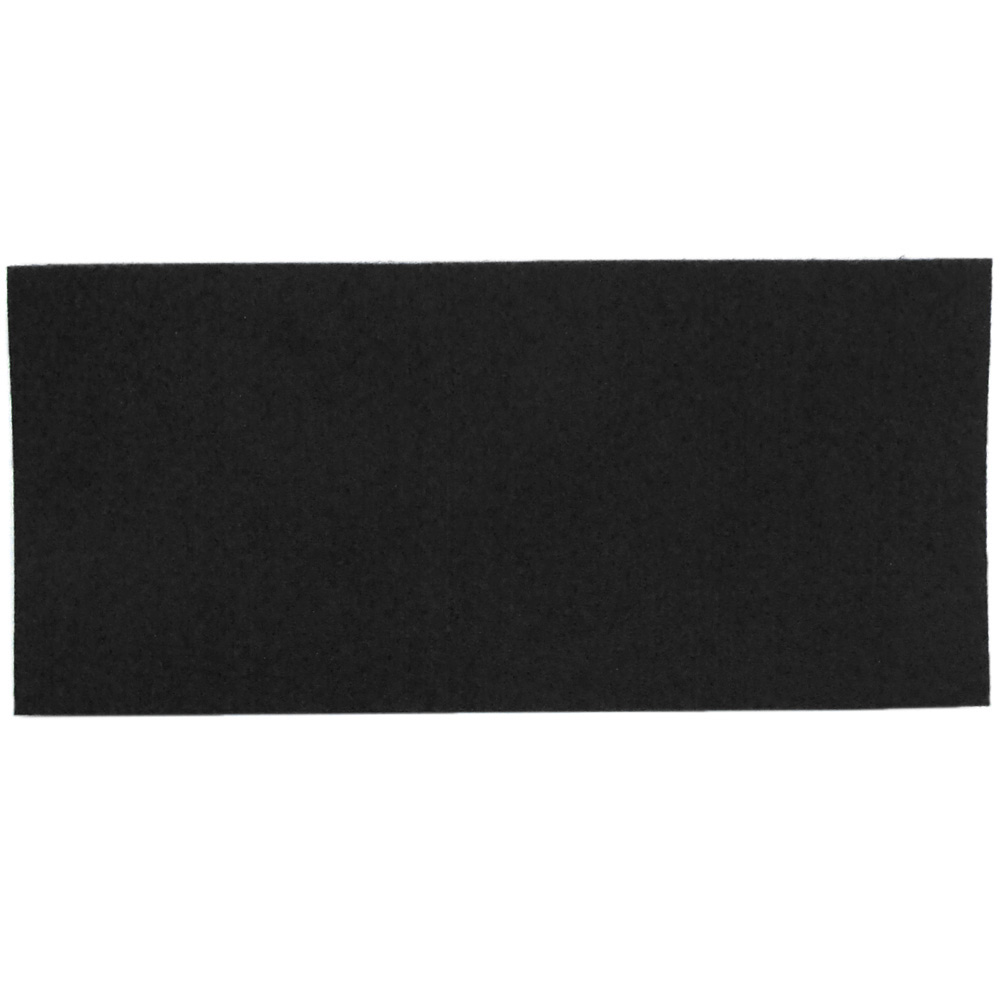 Black felt - sample