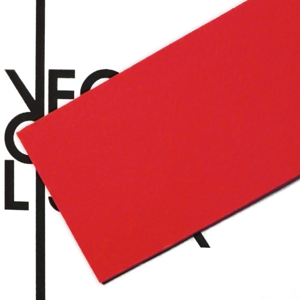 Red felt - transparency