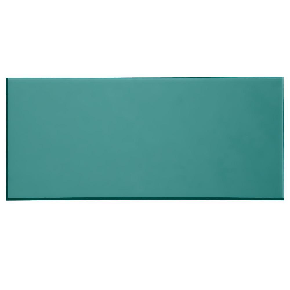 Plexiglas verde petrolio - campione
