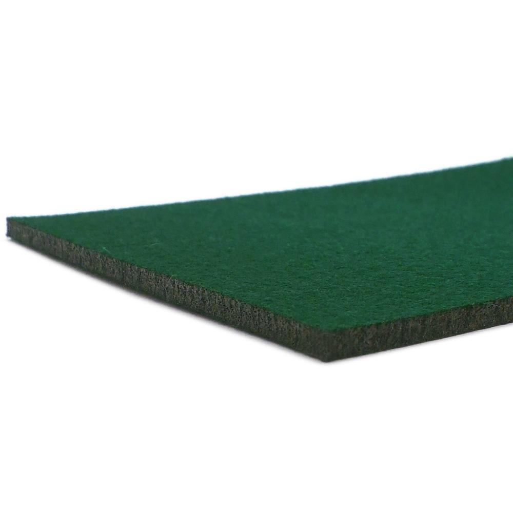 Feutre vert foncé - bord coupé au laser