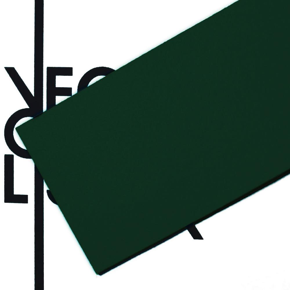 Feutre vert foncé - transparent