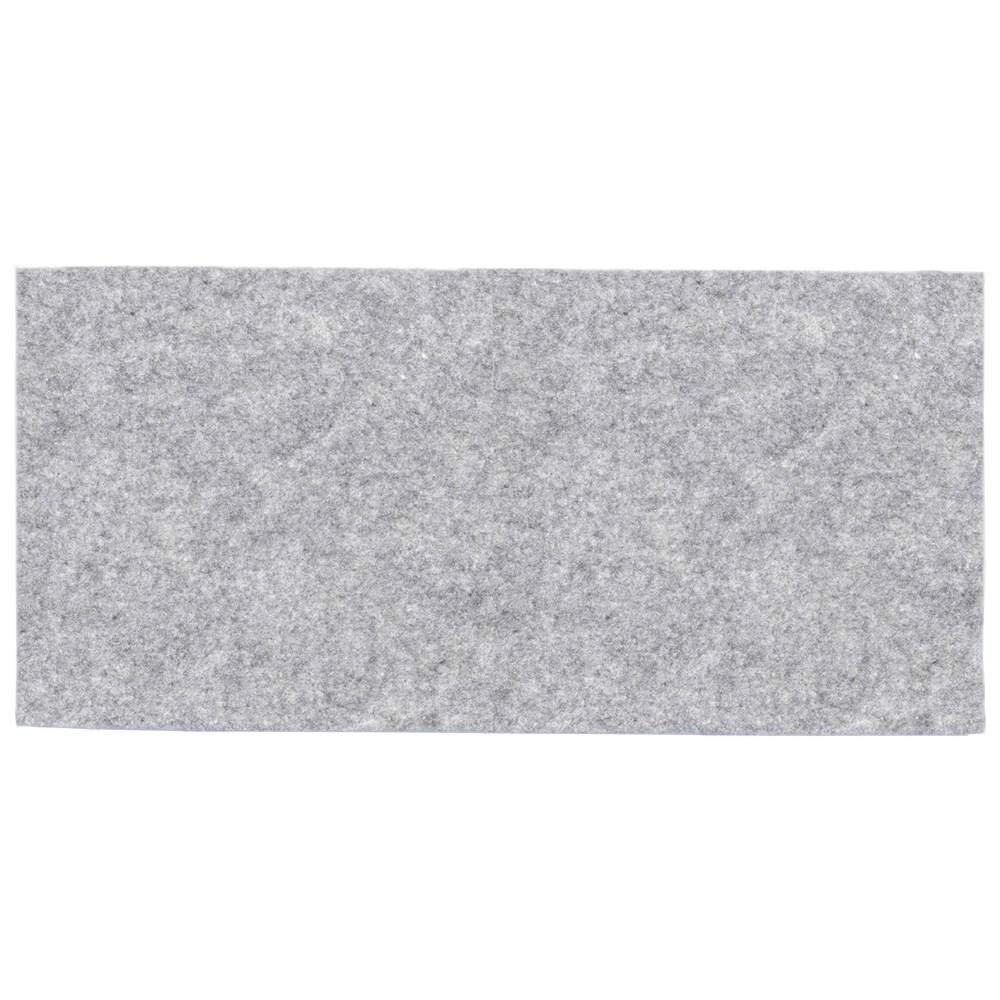 Melange gray felt - sample