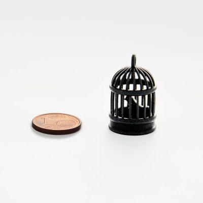 Black resin for 3D printing