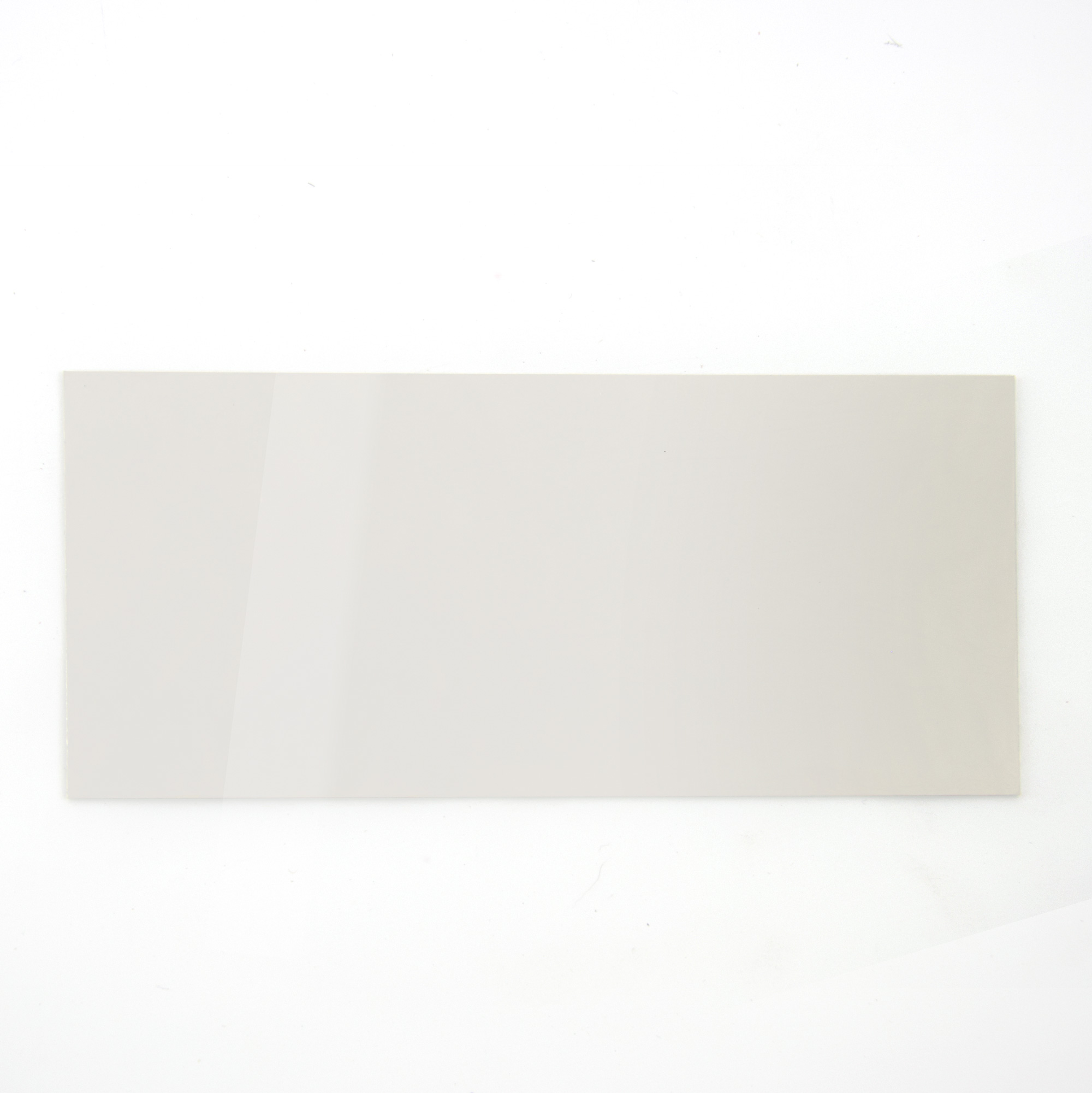 Mirror finish stainless steel - sample