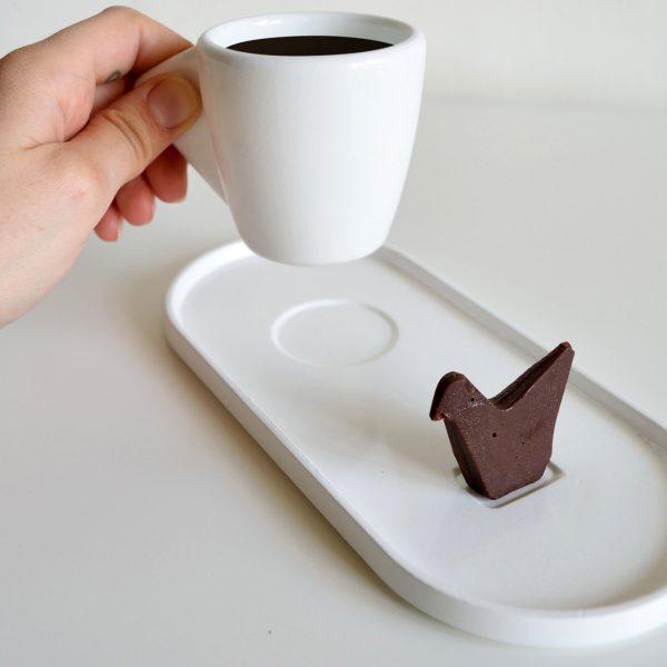 Prototype de plaque fraisée CNC - Moule à chocolat imprimé en 3D