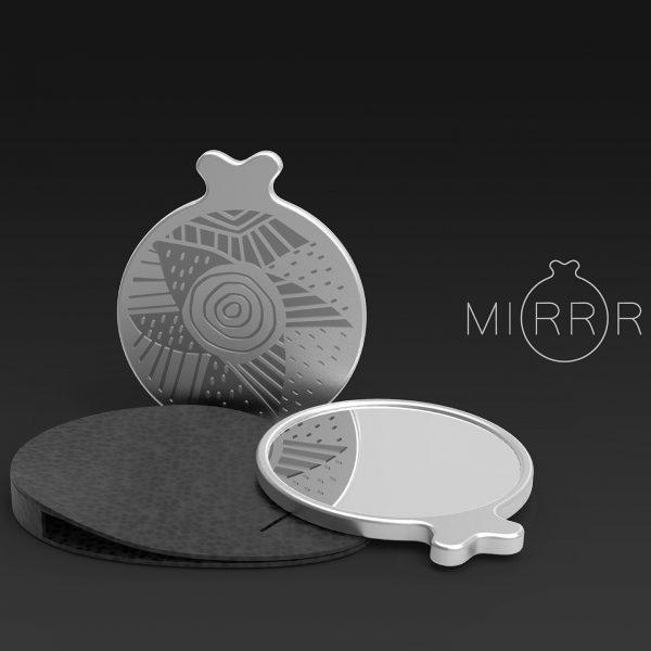 Miroir Cycladique - prototype acrylique découpé au laser