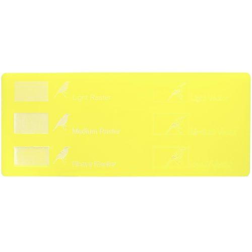 Esempio incisione - Plexiglass giallo limone per il taglio laser