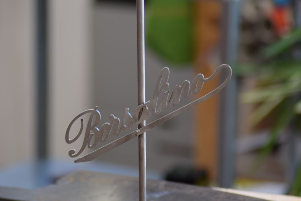 Borsalino hat stand | The Bogart - iron exhibitor