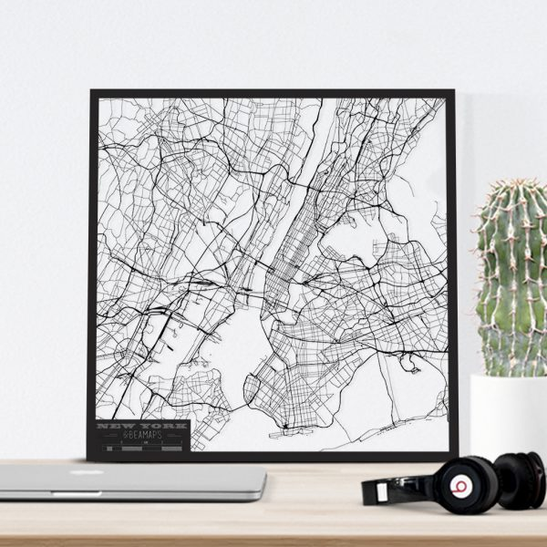 Beamaps | lasercut wall art - city maps