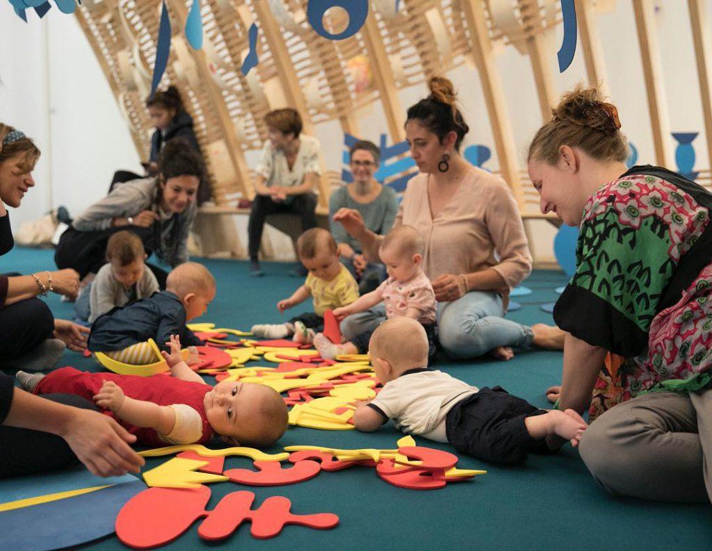 TATCH | installation interactive pour les enfants Triennale Milano
