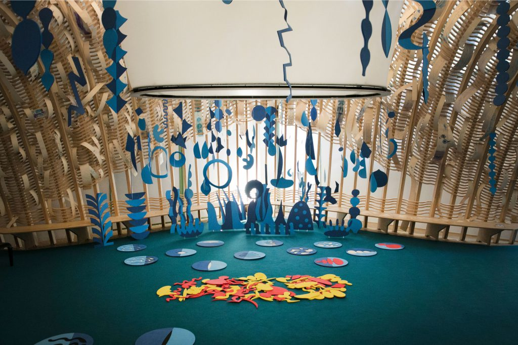 TATCH | interactive installation for kids Triennale Milano