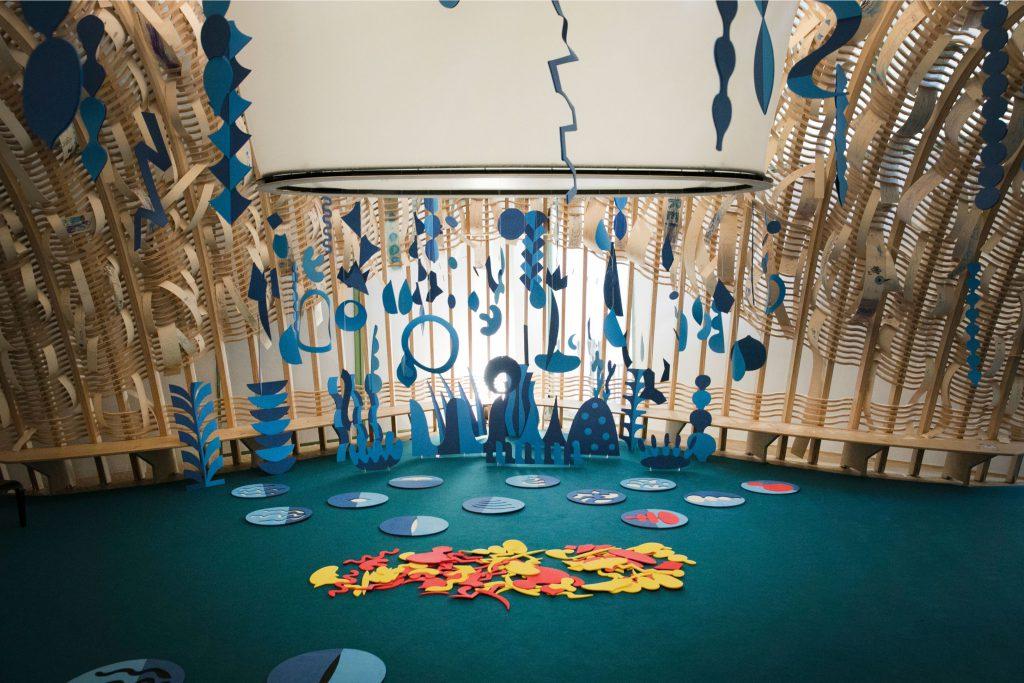 TATCH | interactive installation for kids Triennale Milano
