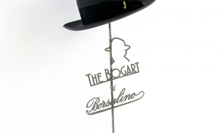 Borsalino | Stand de chapeau de vectoréalisme