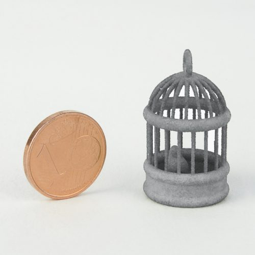 Plastique pour pièces mécaniques grises - Impression 3d MJF
