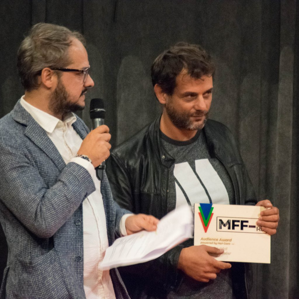 Milan Film Festival 2018 award plaque