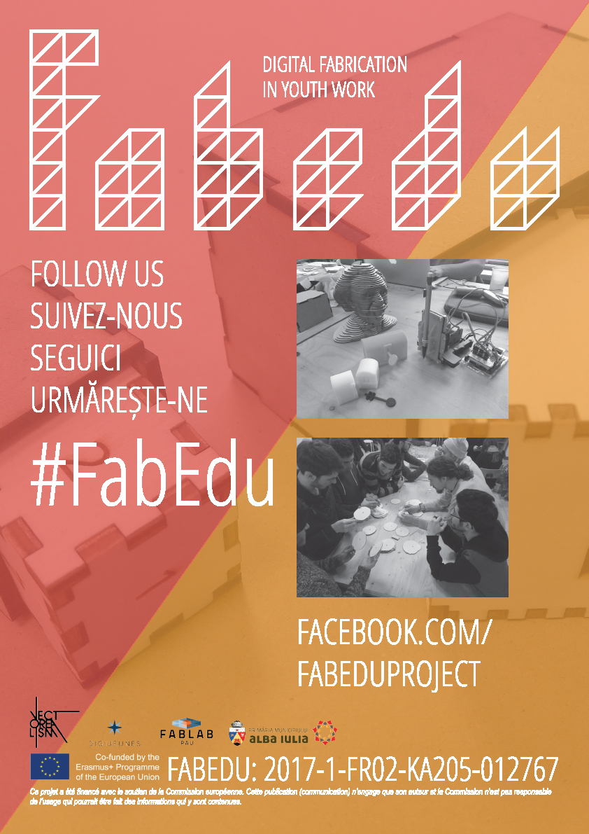 FabEdu digital fabrication for education project