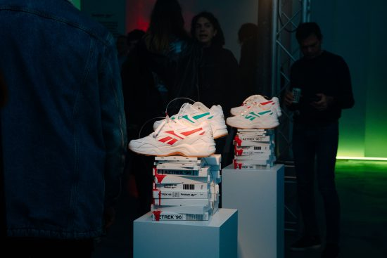 Allestimento per evento Reebok by Vice, Milano