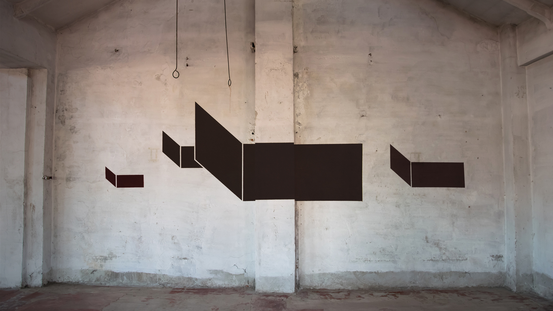 Geometric graffiti art