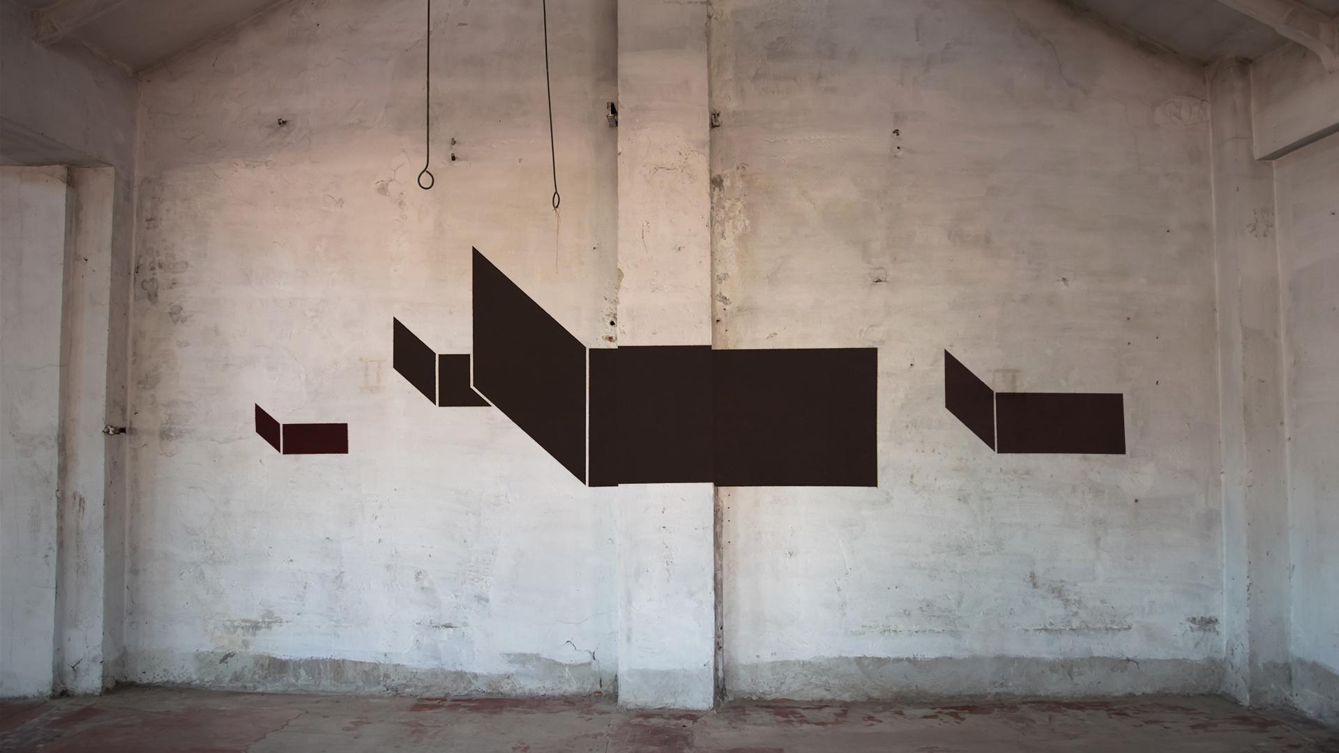 Geometric graffiti art