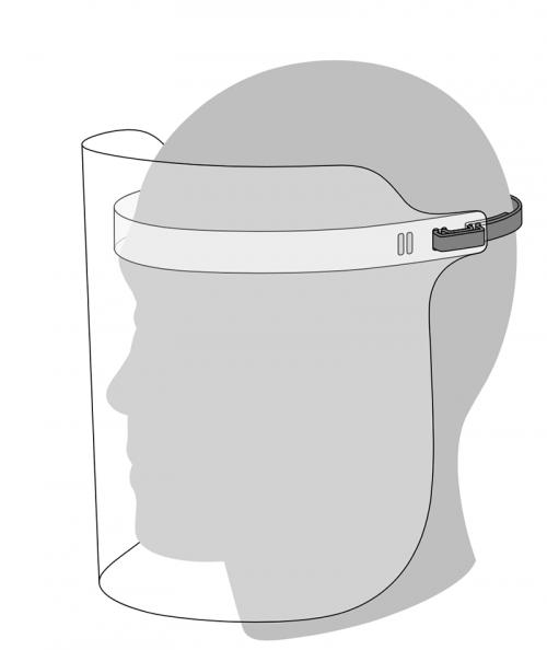 Face Shield Apple