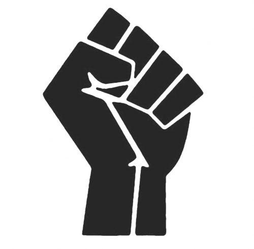 Stencil Black Power