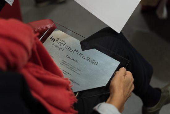 Award plate in plexiglass IN / ARCH